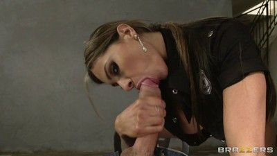 Unrestrained cop esperanza gomez every time gets what she wants