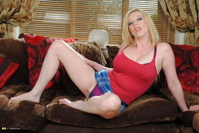 Hot fair-haired milf object wet plus wild