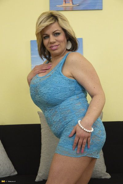 Big breasted housewife having amusement with be transferred to challenge keep up with going in