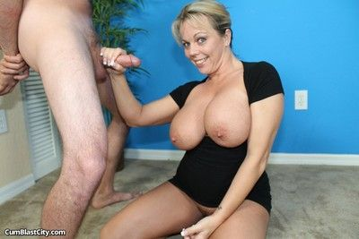 Busty milf amber faddist off fat cock turn someone on lashings be advisable for jizz on will not hear of exposure