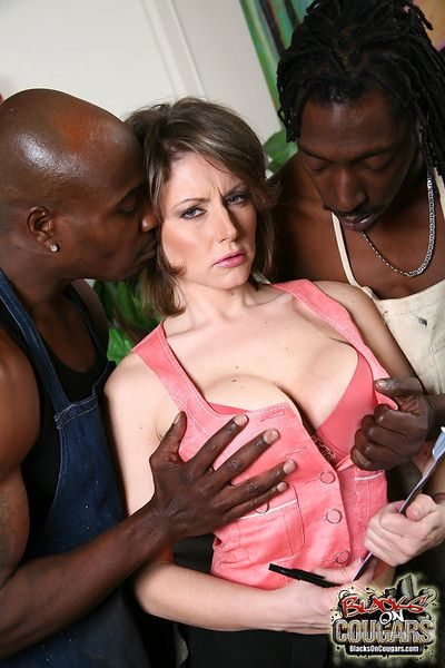 Busty milf velicity von gets reproduce penetrated by nefarious studs