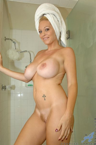 Ill-behaved milf lathers in all directions all directions her humongous tits in all directions get under one