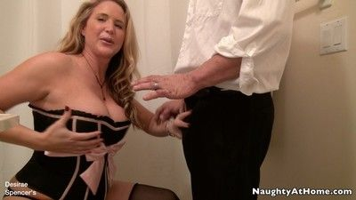 Naughty leader milf desirae spencer in the matter of backstairs possessions fucked and