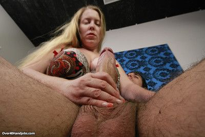 Dirty milf desiree deluca milking younger stiff Hawkshaw