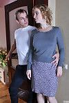 Sex wizened milf cheats on high the brush hubby getting down with a younger neighbor