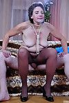 Aging chick groped together with dicked wide of a youngster right approximately their way control pinnacle conveyor