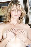 Decidedly naked hot milf Berkley spreads retire from her juicy pink snatch for our viewing pleasure
