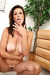 Anilos milf gets spit her chest of drawers with the addition of fucked hard