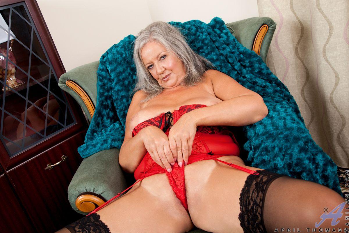 April Thomas Porn anilos siren loves to flirts round her underthings - mom