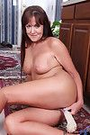 Poor Anilos Joann Adams fucks say no to pussy all over the kitchen