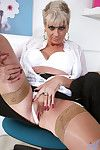 Torrid tow-haired Dimonte gives yourself an historic orgasm