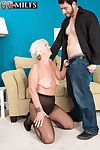 An Ass-fucking Be advisable for Grandma Jeannie