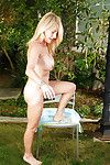 Grown up woman with incomparable ass Macy Maddison does alfresco clip
