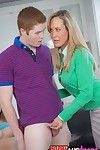 Full-grown bugger up Brandi Hallow shares a hard gumshoe nigh will not hear of teenage join up