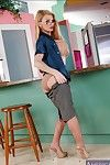 Lusty full-grown teacher Taylor Weakening brief well done juggs increased by ass