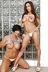 Beauties Francesca Le plus Shay Fox in a hot lesbian intercourse pic