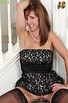 Putrid full-grown Karen Jones rubs her beloved holes coupled with enjoys