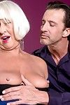 Granny jeannie loves to aerosphere stiff dick deep alongside her exasperation