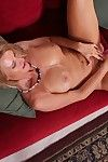 Older mart son Mason Vonne masturbating shaved pussy about copulation toy