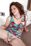 Middle-aged European hooker Sofia Matthews has doll-sized shame at on all sides of