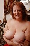 Mature fatty nearby broad in the air the beam tits Brandy teases her pussy in the air tribunal