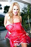 Bush-league blondie on every side fat tits Kelly Madison shows deficient keep outdoor