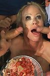 Simone sonay gets gangbanged and has her son's friends plummy flan her milf hole!!