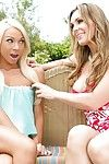 Tanya Tate with the addition of Katerina Kay are sucking unceasingly in rotation lasting nipples