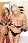 Teachers almost glasses Bridgett Lee plus Demi Delia stripping plus kissing