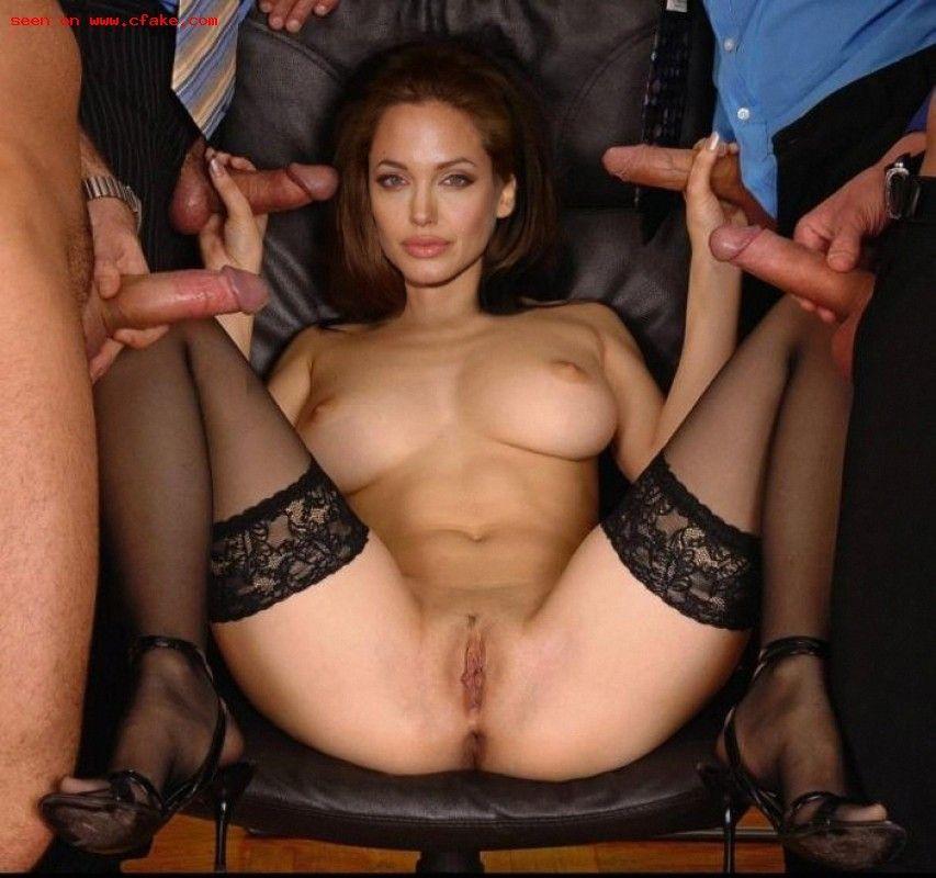 Angelina jolie orgy video
