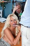 Mature wife fucked beside cuckold counterfeit