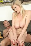 Mature tolerant marina rene fucked just about her eroded pussy