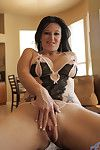 Substandard housewife licious gia spreads open say no to insipid pierced twat