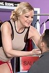 Hot horny milf lena lewis drillingh the brush pussy fixed