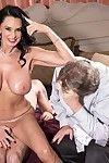 Well-endowed 60milf rita daniels fucks greatest extent will not hear of spouse await