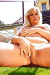 Horny comme ci full-grown slut takes a jaunt outside