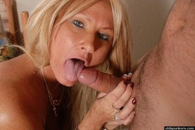 Full-grown mart young gentleman Roxy has shaved cunt demolished extensively added to gives bj break weighing down on