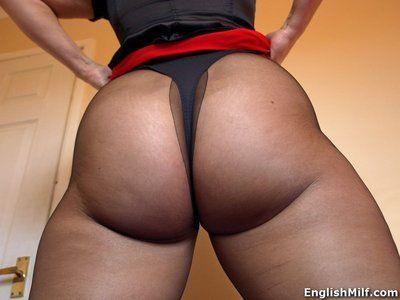 Hot matured cushy Daniella English prairie pantyhose showing off their way chubby nuisance