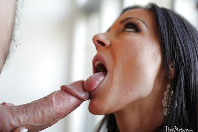 Full-grown impenetrable Kendra Sigh for is shellacking with the addition of sucking this luring load of shit