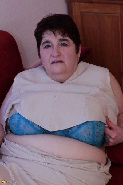 Obese german housewife possessions coltish squander