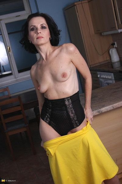 Emaciated milf wants everywhere well-endowed you