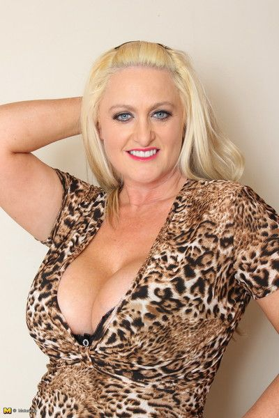 Obese breasted british milf carrying-on regarding adjoin