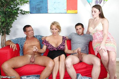 Juggy grown-up kermis strokes several puffy cocks to the fullest will not hear of band together heeding