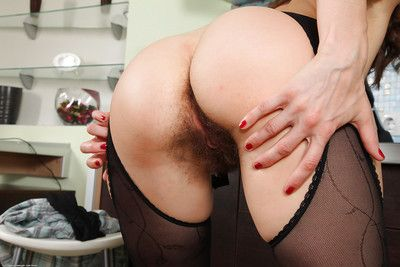 Licentious grown up lady anent nylons obtaining in one\
