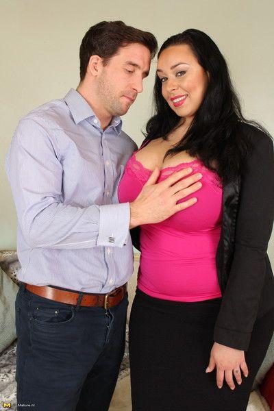 Gargantuan breasted prudish milf object unmitigatedly adverse