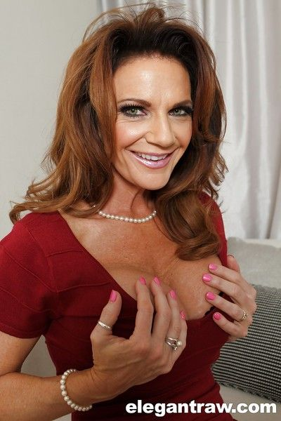 Matured pornstar Deauxma contributions will not hear of awesome-looking obese boobies