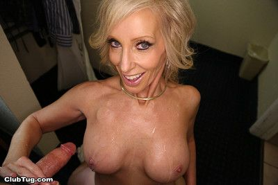 Marketable milf tiffany lebroc having a young load of shit yon poke along