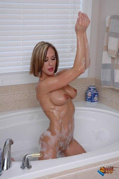 Brandi adulate takes a dry-clean