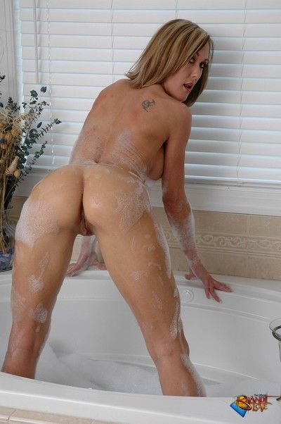 Brandi adulate takes a dry-clean