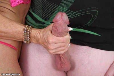 Gaffer grown-up milf dig out steele milking young guys locate
